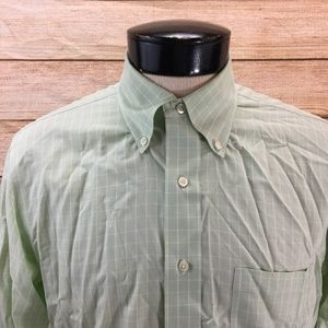 Brooks Brothers Button Front Shirt L